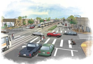 Crenshaw Boulevard Streetscape Plan Adopted Los Angeles