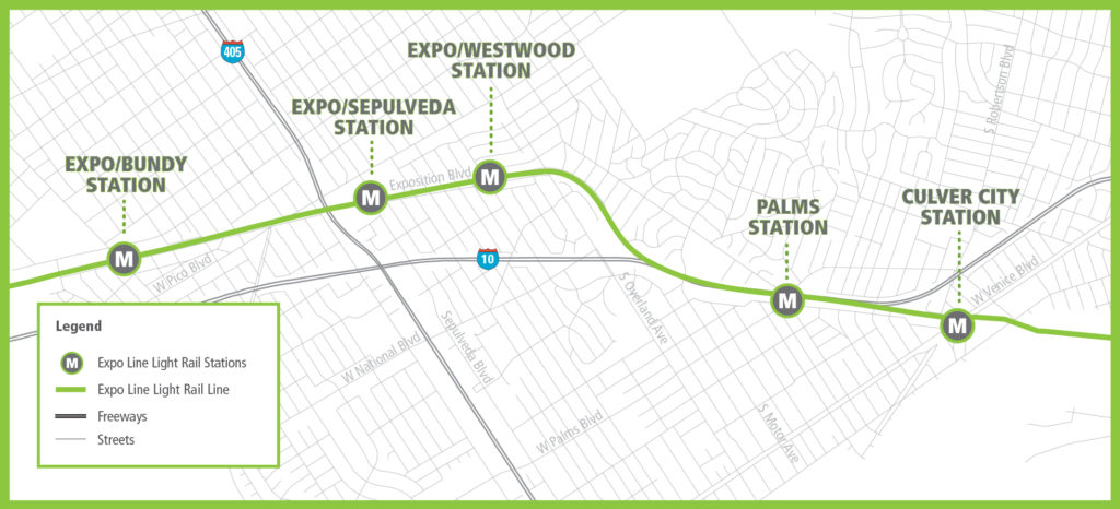 Exposition Line Los Angeles Transit Neighborhood Plans